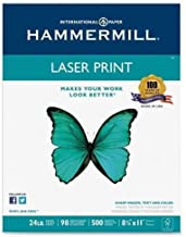 "product image for Hammermill Laser Print Paper,24 lb., 98 GE, 8-1/2""x11"", 500 Sht/RM, WE (104604)"