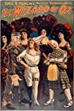 Theater Show the Wizard of Oz Musical Extravaganza Playbill 12' X 16' Image Size Vintage Poster Reproduction