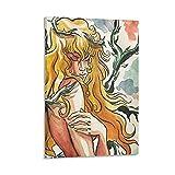 shujian Lady Oscar Cartoon Poster Dekorative Malerei