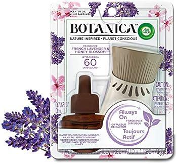Air Wick Botanica French Lavender & Honey Blossom Scented Oil Starter Kit