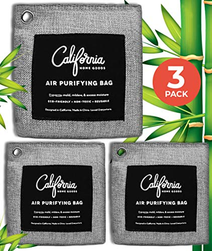 New Activated Charcoal Odor Absorber Bags 3-Pack, Charcoal Bags Odor Absorber, Odor Eliminators for ...