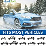 HandiRack - Universal Inflatable roof rack bars (Black) - FREE TIE DOWNS INCLUDED - Fits most cars and SUVS