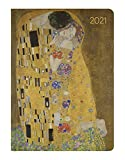 Alpha Edition - Agenda Settimanale Ladytimer 2021, Formato Tascabile 10,7x15,2 cm, Klimt, 192 Pagine