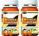 Vitamine Mineralergänzungsmittel Multivitamine 2 Boxen mit 60 cpr Leistungsstark mit Ginseng...