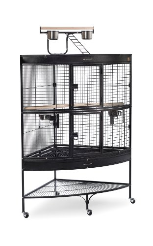 Prevue Pet Products Large Corner Bird Cage...