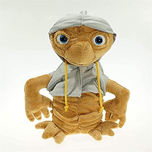 Archile Gefüllte Puppen Plüschtiere Puppe gefüllte Tiere Figur Spielzeug - 25cm Alien Plüsch Puppe Spielzeug Die extra terrestrische gefüllte Puppe mit Tuch Kids (Farbe: rot) (Color : Gray)