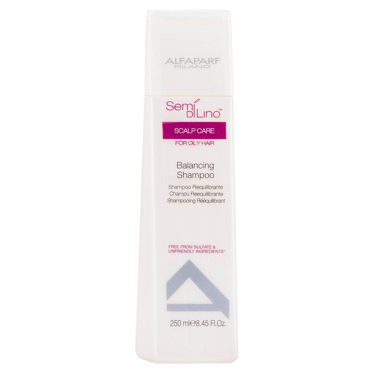 しっとり終わりキャンディーアルファパルフ Semi Di Lino Scalp Care Balancing Shampoo (For Oily Hair) 250ml [海外直送品]