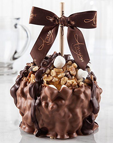 Rocky Road Turtle Caramel Apple w/ Milk Belgian Chocolate