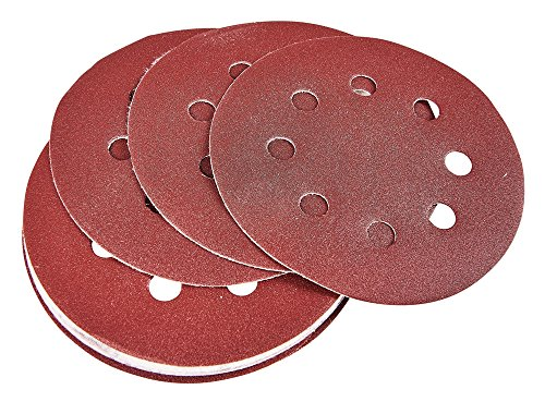 Amtech V4075 P240 circulaire Lot de 10 feuilles abrasives, 240 V, clair