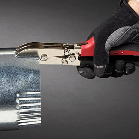 MWT-6510C-New Left and Right Cut Offset Tin Cutting Shears with Forged Blade /& KUSHN-POWER Comfort Grips MIDWEST Aviation Snip Set