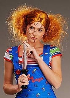 colore: Ginger per adulti Parrucca Chucky con licenza ufficiale unisex SMIFFYS 61022
