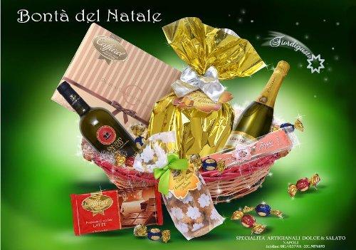 Idea Regalo di Natale - Cesto di Natale Artigianale - Cesto Natalizio - Cesti Natalizi - Bontà del Natale