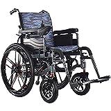 WXDP Autopropulsado s, Scooter eléctrico/de Movilidad portátil Plegable, cómodo y Seguro, Recorrido de 6 km/hy 13 Millas de Alcance