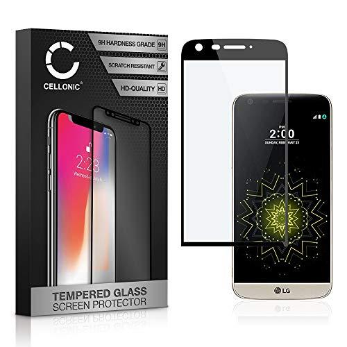CELLONIC Cristal Protector de la Pantalla Compatible con LG G5 (3D Full Cover,...
