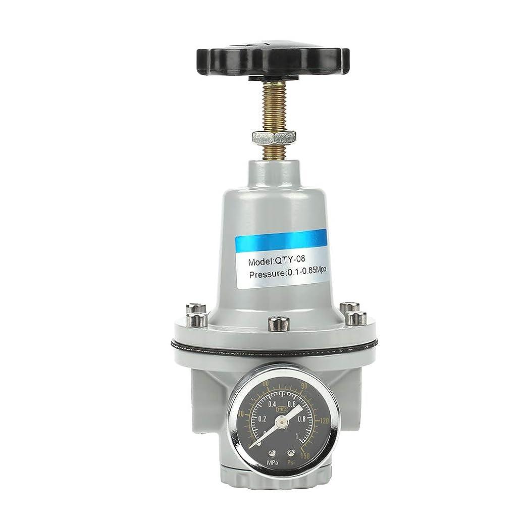 ゆりかごワイヤー格納空気圧システム用G1 / 4アルミニウム合金空気圧調整バルブ空気レギュレータ