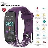 Zeerkeer Orologio da Polso,Fitness Tracker 0.96 Elettrocardiogramma PPG, Contapassi, Consu...