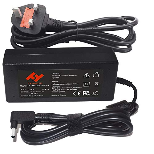TAYINPLUS 19V 3.42A 65W Laptop charger for Asus Zenbook UX305 UX305F UX301U UX303U Vivobook X540UA X540S X553M X541UA Notebook AC Power Adapter(4.0x1.35mm)