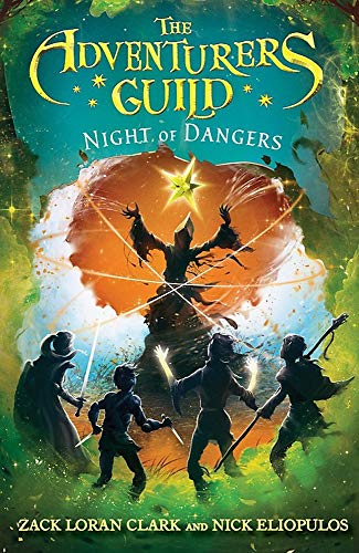 Compare Textbook Prices for The Adventurers Guild: Night of Dangers The Adventurers Guild, 3 Reprint Edition ISBN 9781368000345 by Clark, Zack Loran,Eliopulos, Nick