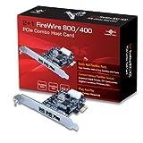 Vantec UGT-FW2102plus1FireWire 800/400PCIe Combo Carte Hôte