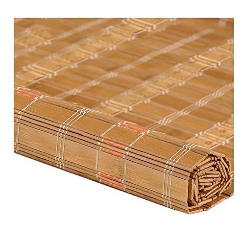 Beschattung Bambusschirm, Bambusvorhang Römische Fenster Rollläden Renovierung Abgeschnitten Hohe Beschattungsrate, Bauernhausstil, 3 Farben, Mehrere Größen Erhältlich, MTX Ltd, c, 160x225CM