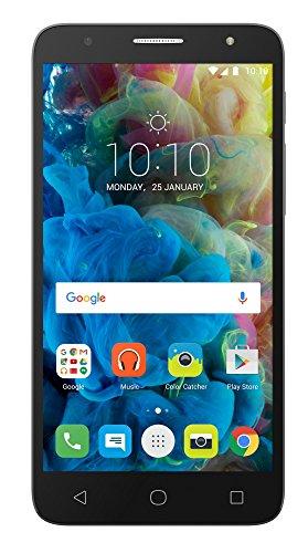 TCL 560 Smartphone Dual SIM 5.5 (720 x 1280 Pixel, 2 GB, 1,1 GHz) dunkelgrau