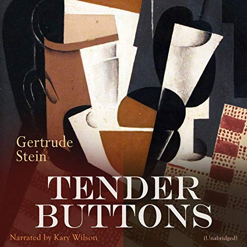 Tender Buttons audiobook cover art