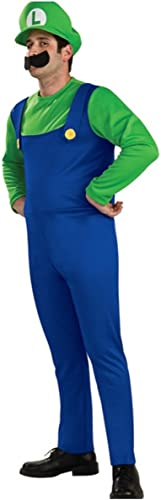 Super Mario Brothers Luigi Costume Small, Blau Grün (japan import)
