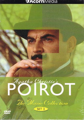 Agatha Christie's Poirot Movie Collection Set 3 (Peril at End House, Dumb Witness, Hercule Poirot's Christmas)