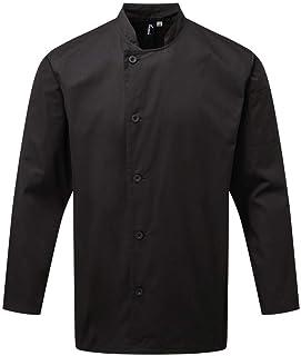Premier Unisex Adults Chefs Essential Long Sleeve Jacket