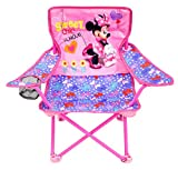 Best Beach Chairs For Kids - Minnie Camp Chair for Kids, Portable Camping Fold Review