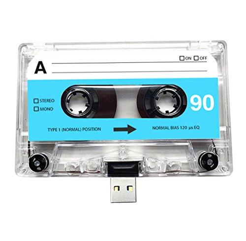 (4 GB) USB-Mixtape, Retro, Quirky Geschenk, Freund, Freundin, Geburtstag, Hochzeit, Jahrestag, Valentinstag, Weihnachten, Flash-Laufwerk