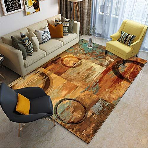 Zuoyun Alfombra Diseño Extra Grandes Moderno Pelo Corto Funky Area Carpet Espacio...