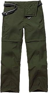 Jessie Kidden Homme Pantalon Softshell Doubl/é Polaire Coupe-Vent Imperm/éable Outdoor Sport Camping Randonn/ée Trekking Pantalon #801