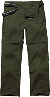Women's Hiking Convertible Outdoor Lightweight Quick Drying Travel Cross Durable Stretch Pants