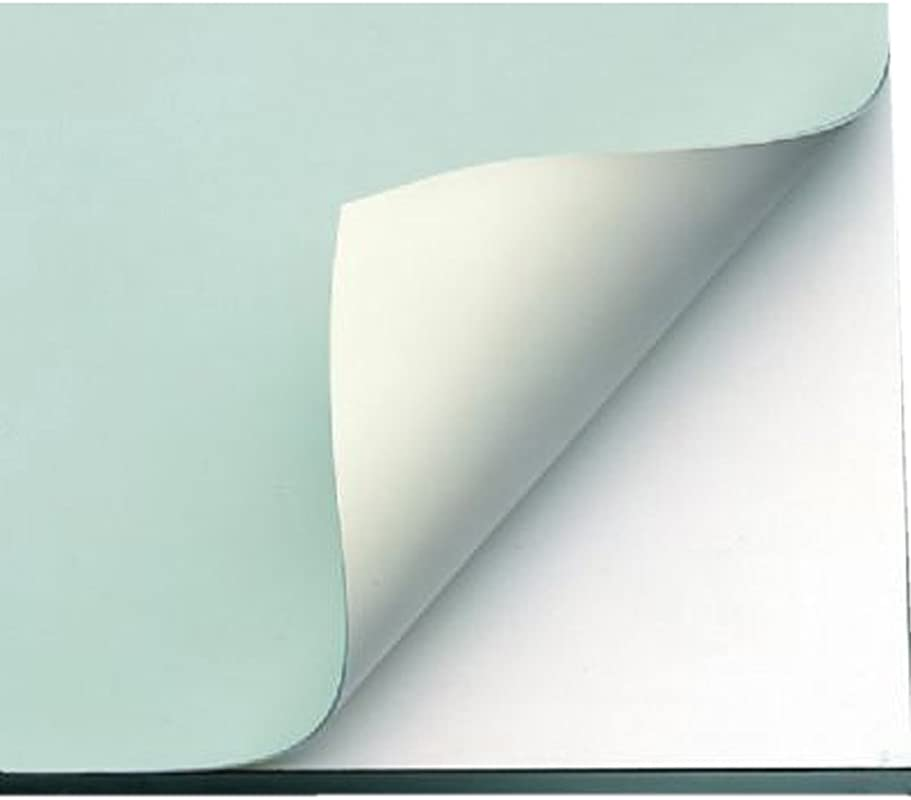 Alvin VYCO Board Cover Stain Resistant And Self Sealing Green Cream Sheet 37 5 X 60 Inches