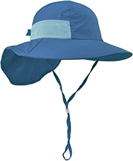 Lenikis Kids Outdoor Activities UV Protecting Sun Hats with Neck Flap