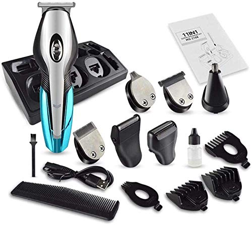 ÉTM Haircut Trimmer Electric Clipper Hair Men S Multifonctional Six-in-One Rechargeable Hair Household Shaver Professional Haircut Trimming Set