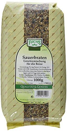 Fuchs Sauerbraten Gewürzmischung für die Beize GV, 2er Pack (2 x 1 kg)