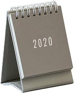 Mini Desk Calendar 2020 Academic Year, Desk-Top Flip Calendar,Date Notepad,for Teacher,Famil,Travel,School Or Business Office