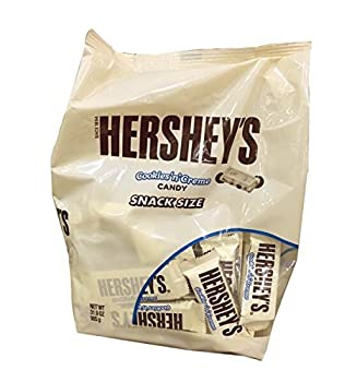 Hershey s Cookies  n  Creme Snack Size Bars  31.9 Ounce Bag