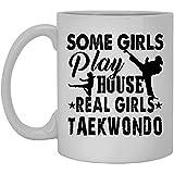 Taza de viaje de Taekwondo - Taza de acero inoxidable Taekwondo Real Girls