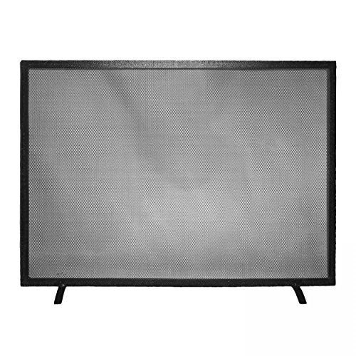 Funkenschutz / Funkenschutzgitter schwarz 1-teilig 55 x 80 cm