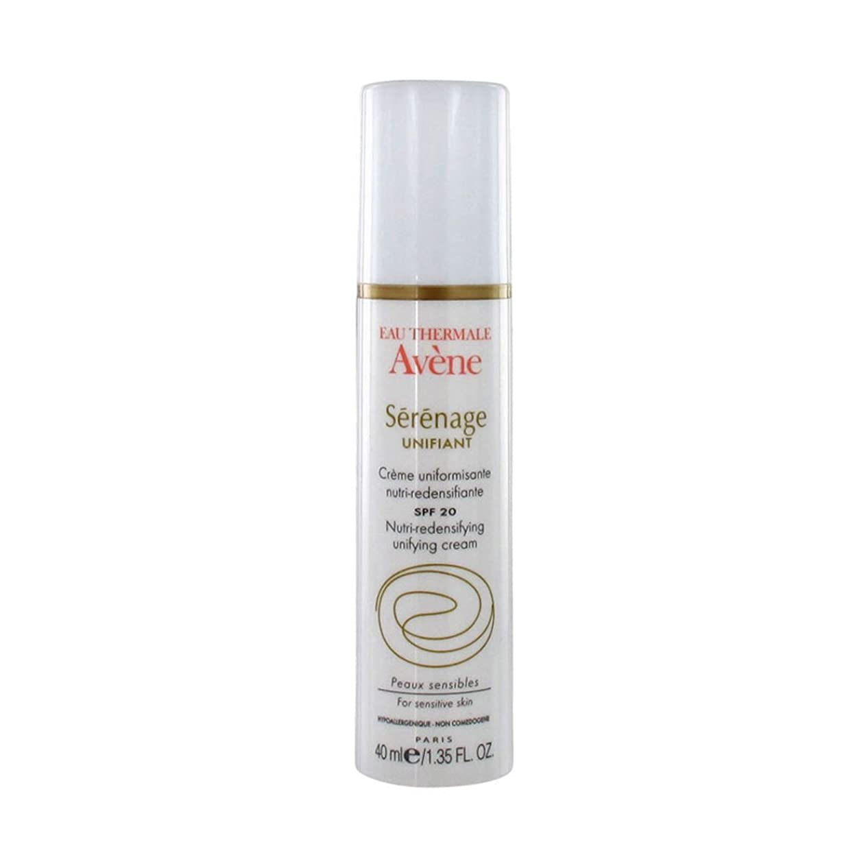 寺院サービス志すAvene Serenage Unifying Care Nutri-redensifying Unifying Cream Spf20 40ml [並行輸入品]