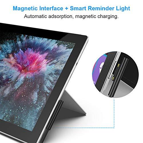 Surface Pro-Ladegerät 44W 15V 2.58A, Netzteiladapter Kompatibel mit Microsoft Surface Pro 3/4/5/6/7, Surface Laptop 1/2/3, Surface Go 1/2, Surface Book 1/2, mit 5V 1A USB-Ladeanschluss