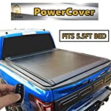 ONINE Electric Power Retractable Truck Bed Tonneau Cover Matte Black Custom fit 2015-2020 Ford F150 5.5 FT Short Bed