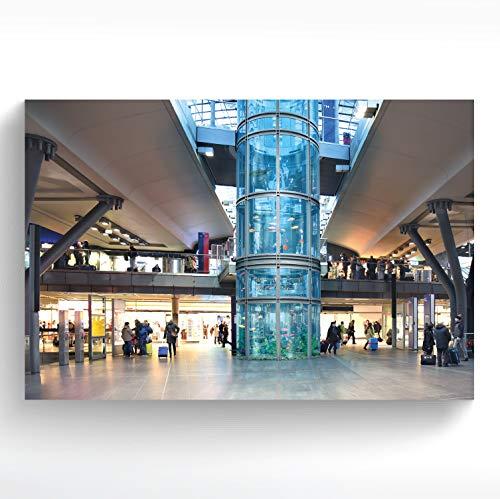 stadtecken® A4 Poster Berlin I Motiv: Aquarium I Kunstdruck I Dekoposter I Wandbild I Plakat I Souvenir I Geschenk I Geschenkidee - mit Varianten