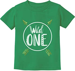 Wild One Baby Boys Girls 1st Birthday Gifts One Year Old Infant Kids T-Shirt