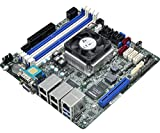 ASRock Rack C3758D4I-4L Intel Atom C3758 2.2GHz/ DDR4/ SATA3&USB3.1/ V&4GbE/ Mini-ITX Motherboard & CPU Combo