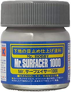 Mr. Surfacer 1000 from Gunze-Sangyo # 1000 by Mr. Hobby