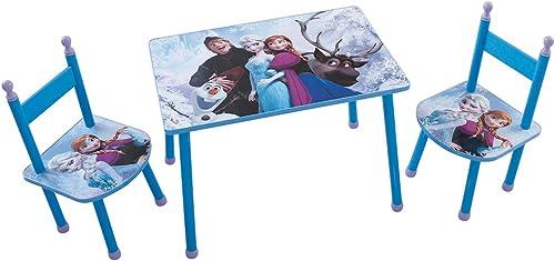 toma Fun House 712505Disney Frozen Frozen Frozen Juego de Mesa con 2sillas para Niños MDF azul 60x 40x 44cm  barato